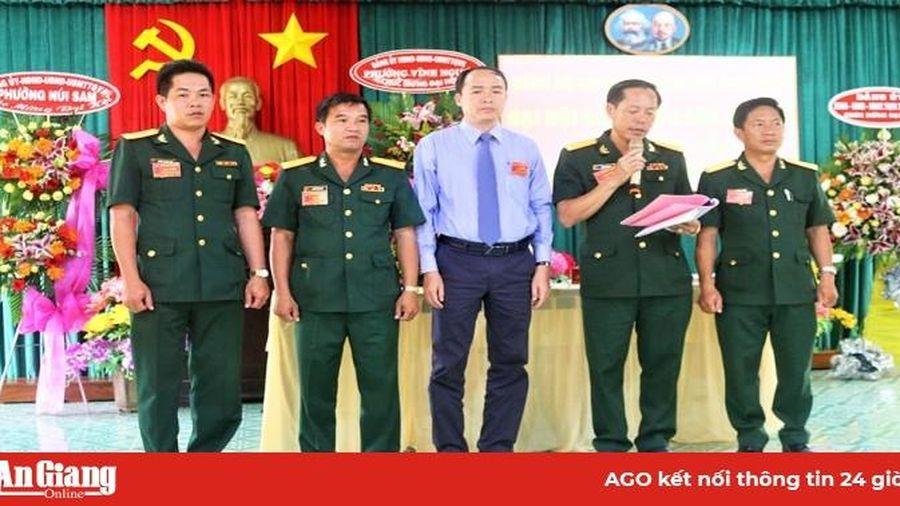 Đại hội Đảng bộ Quân sự TP. Châu Đốc