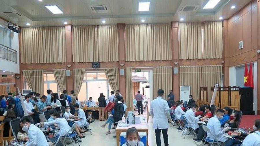 Công đoàn Cơ quan BHXH Việt Nam tổ chức chương trình hiến máu tình nguyện 'Hiến máu an toàn - đừng ngại COVID'