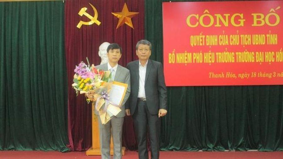 Tin bổ nhiệm nhân sự mới tại Thanh Hóa, TP.HCM