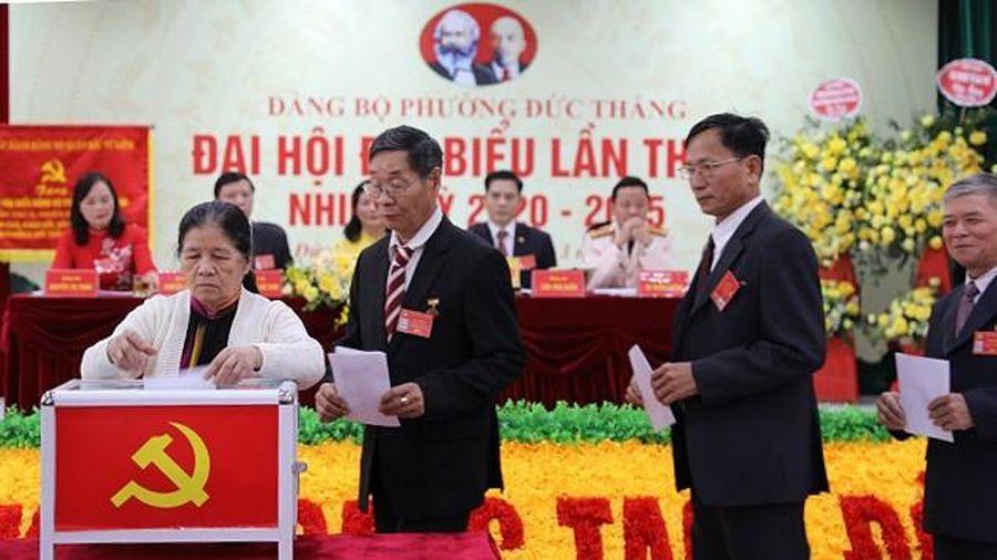 Công tác nhân sự cấp ủy ở Hà Nội: Nhìn từ Đại hội điểm