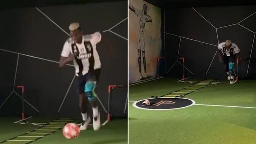 Paul Pogba gửi thông điệp chống Covid-19... bằng việc mặc áo Juventus