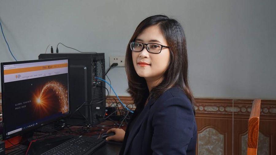 Cô giáo ở Phú Thọ lọt top '50 giáo viên xuất sắc nhất toàn cầu'