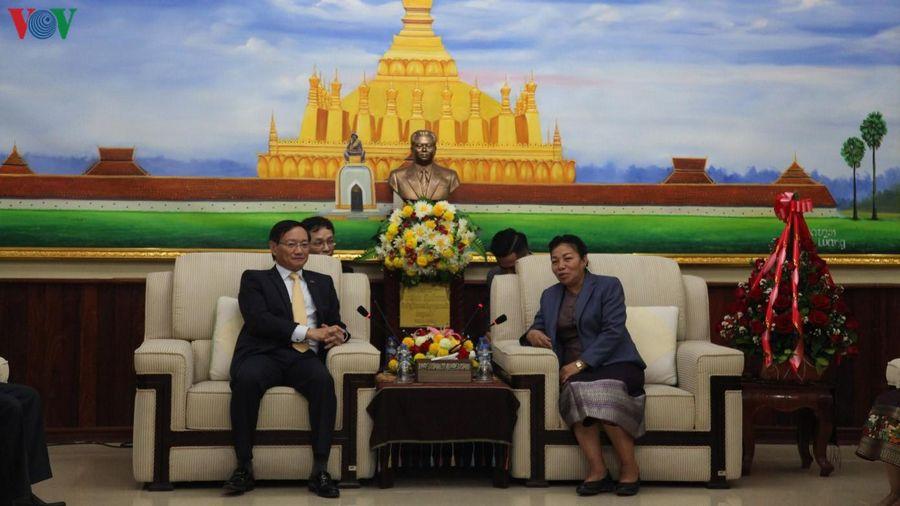 Việt Nam chúc mừng 65 năm thành lập Đảng Nhân dân Cách mạng Lào