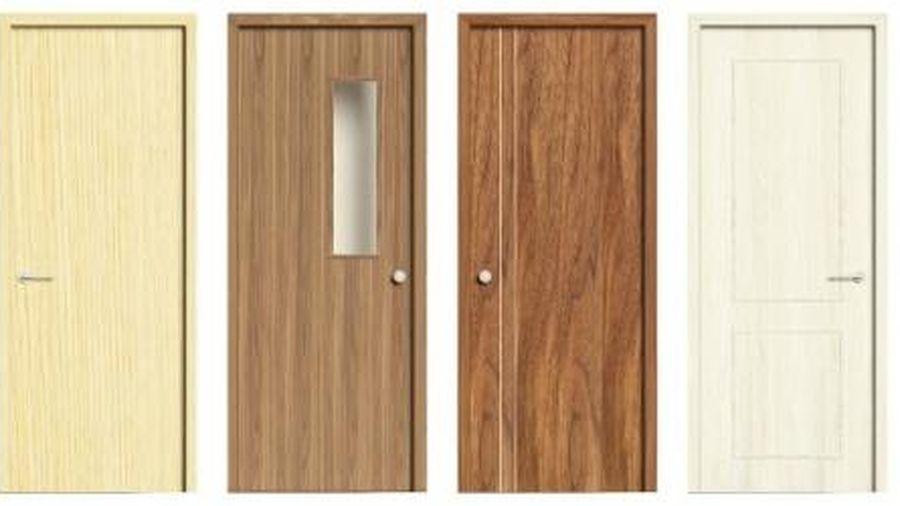 Cửa gỗ Composite Eurowindow: Đẹp sang tinh tế, thiết kế chịu nước tối ưu