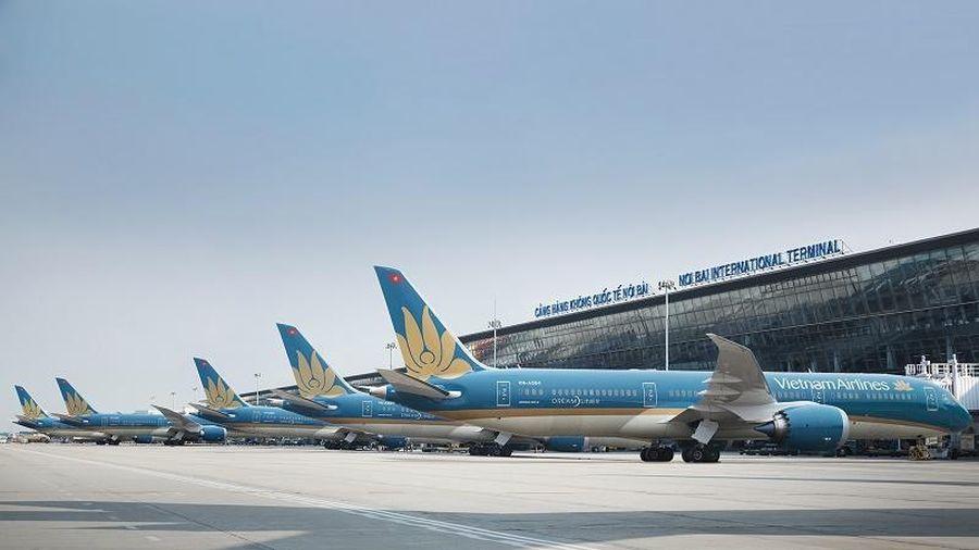 Vietnam Airlines tạm dừng khai thác tất các đường bay quốc tế