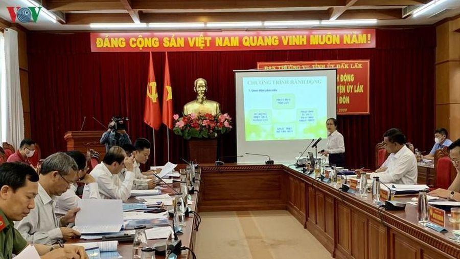 9 ứng viên vị trí Bí thư Huyện ủy ở Đắk Lắk 'tranh tài'