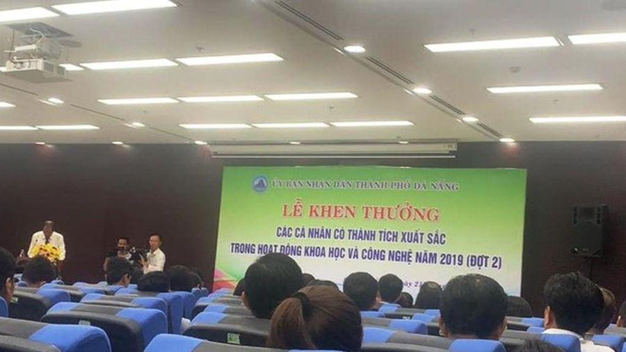 Đà Nẵng: Trao giải thưởng cho nhiều công trình khoa học có giá trị