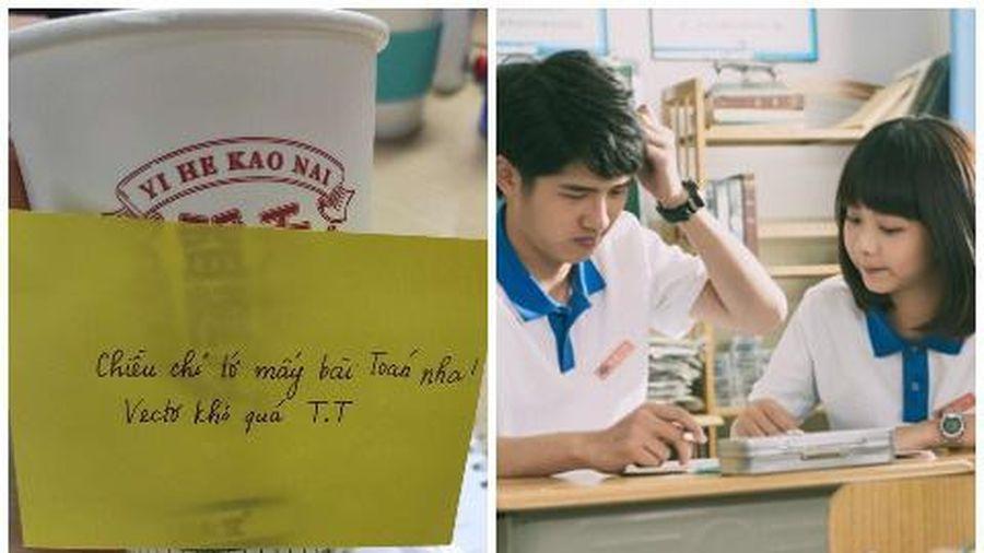 Crush mua trà sữa nhờ chỉ bài, nam sinh bứt phá một phát lên top 5, học giỏi luôn môn Toán