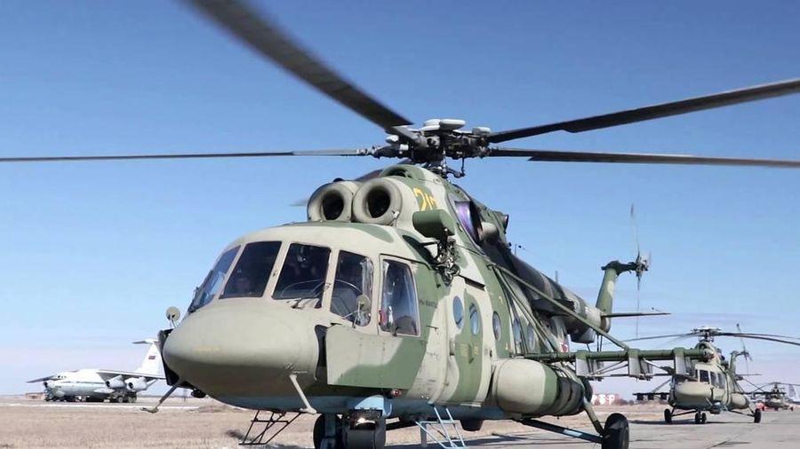 Máy bay quân sự Mi-8 hạ cánh khẩn ở Nga, 4 người thiệt mạng
