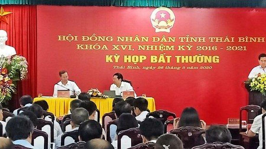 HĐND tỉnh Thái Bình họp bất thường thông qua nhiều nội dung quan trọng