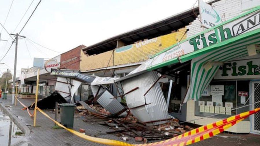 Australia: Bão Mangga phá hủy nhiều nhà cửa