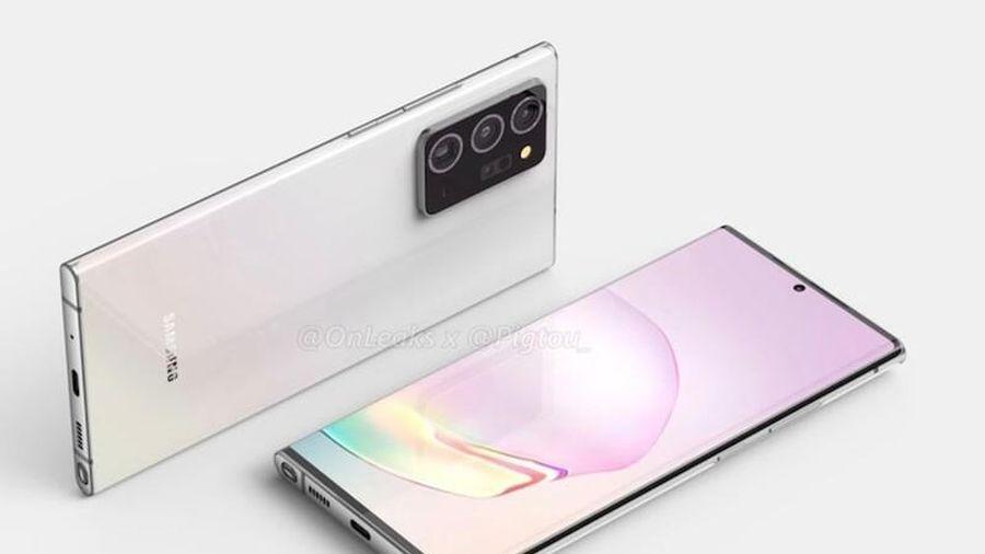 Samsung Galaxy Note 20+ lộ diện toàn bộ, thiết kế siêu đẹp