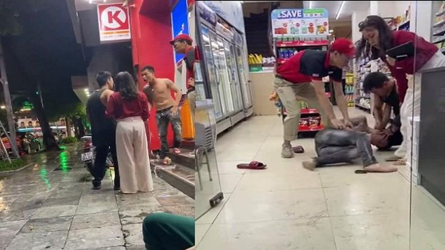 Sàm sỡ phụ nữ ở cửa hàng tiện lợi, thanh niên hổ báo nhận cái kết