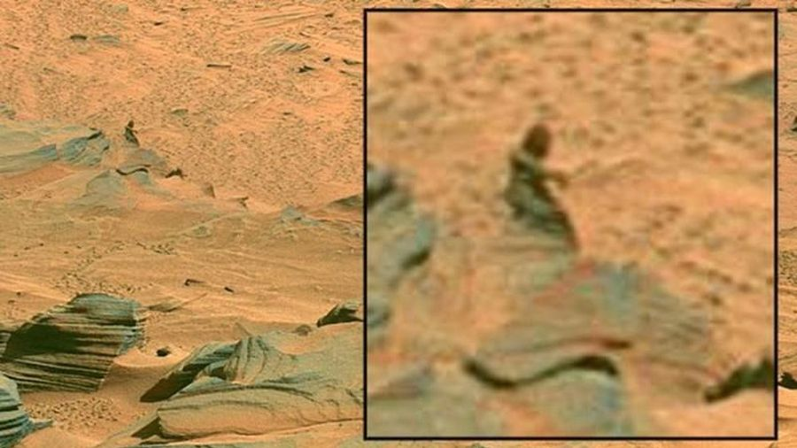Rợn người loạt hình ảnh kinh dị nhất được chụp trên sao Hỏa