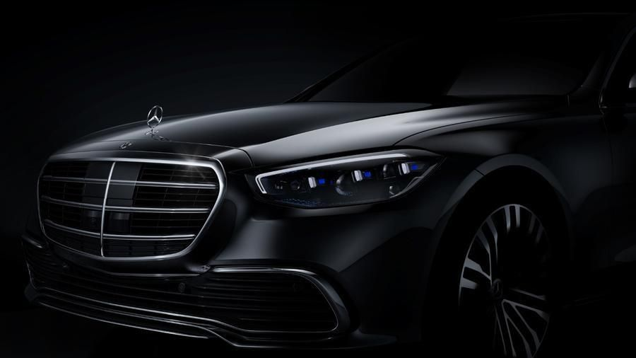 Mercedes-Benz S-Class thế hệ mới bất ngờ lộ ảnh