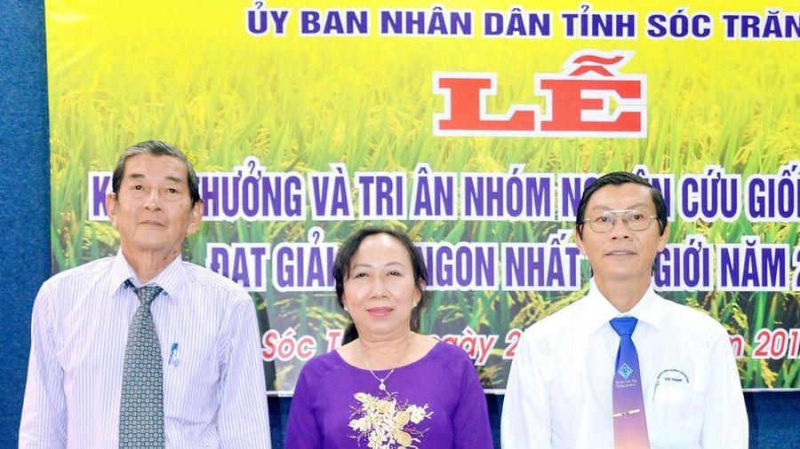 Tiến sĩ nhóm tác giả gạo ngon nhất thế giới được bổ nhiệm Phó GĐ Sở Nông nghiệp