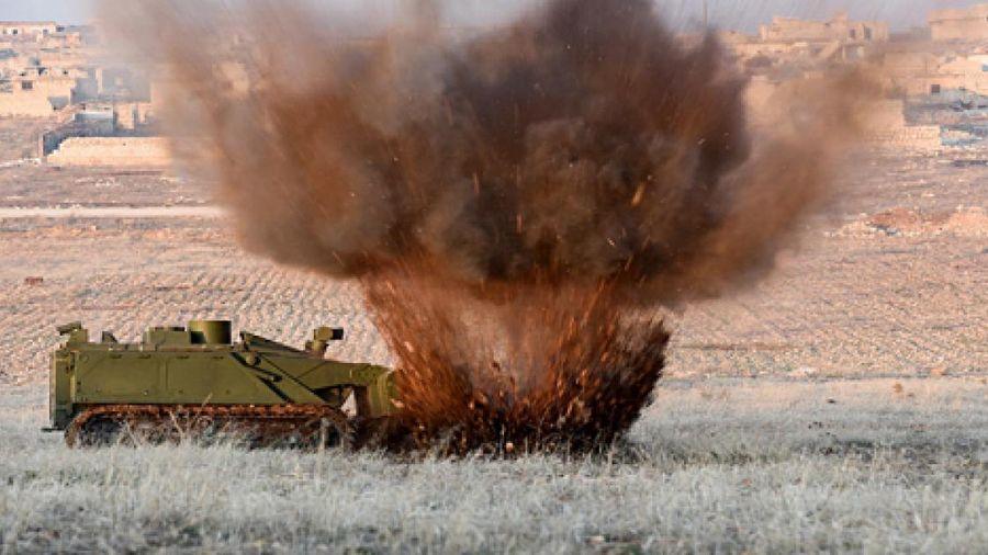 Lực lượng vũ trang Nga sẽ nhận 22 robot công binh mới