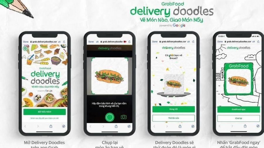 Biến những nét vẽ nghịch ngợm thành món ăn giao đến tận tay khách hàng