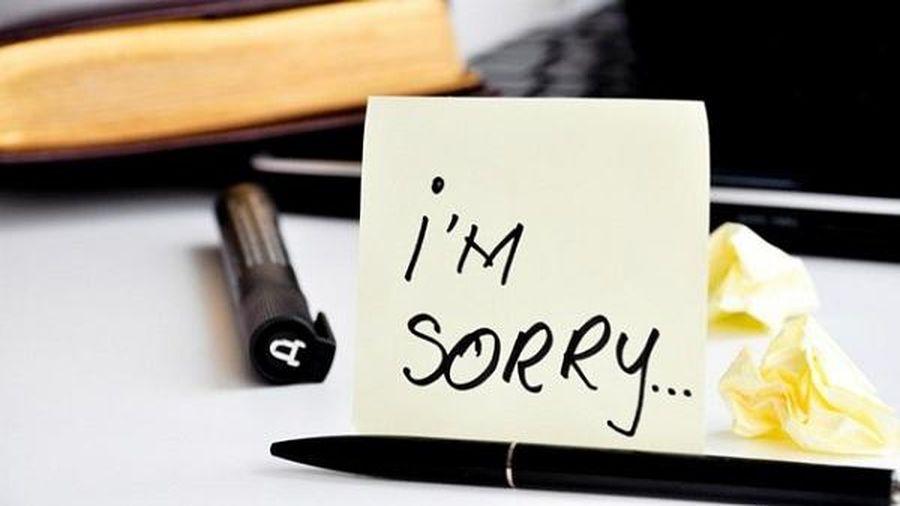 8 tình huống không nên nói lời xin lỗi