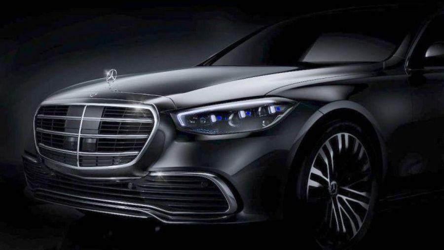 Mercedes S-Class 2021 thế hệ mới tung teaser chính thức