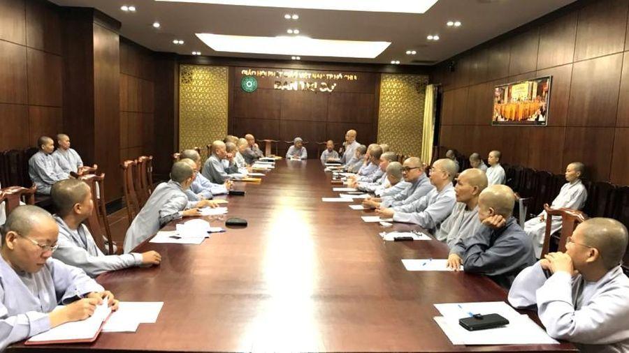 TP.HCM : Phân ban Ni giới họp triển khai Phật sự