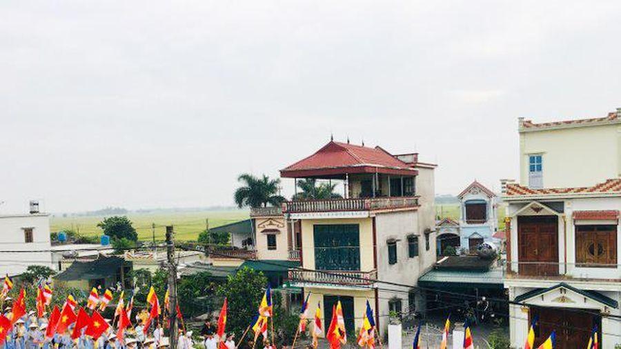 Thái Bình : Chùa Văn Môn tổ chức lễ Phật đản đầu tháng 4 nhuận