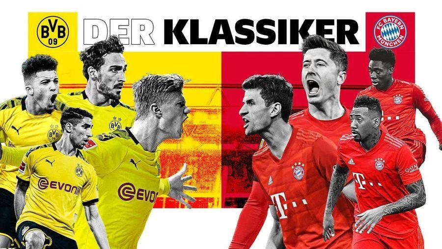 3 điểm nóng quyết định số phận trận đại chiến Dortmund - Bayern Munich