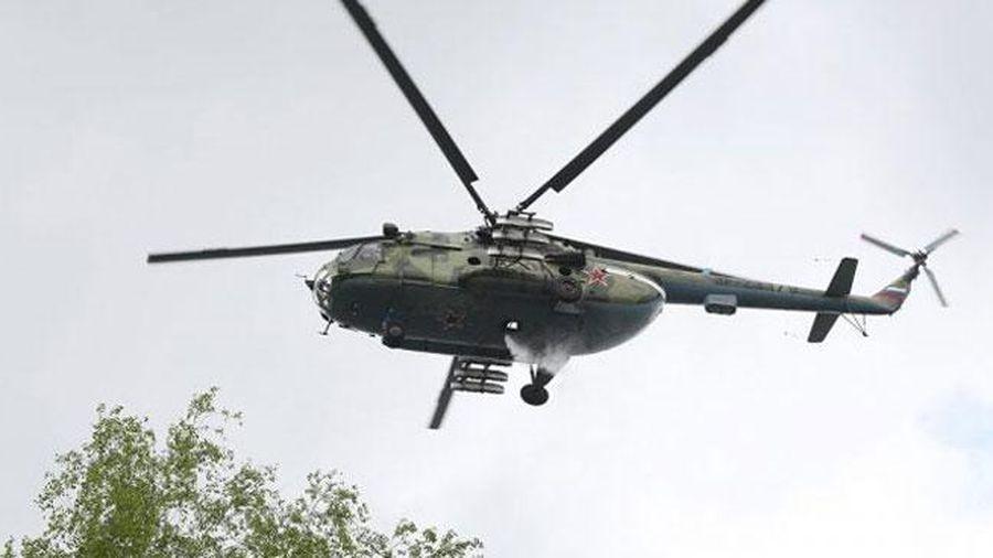 Trực thăng quân sự Nga hạ cánh khẩn cấp, 4 người có thể đã thiệt mạng