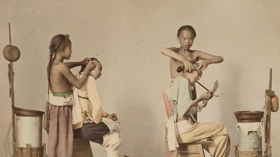 Cực bất ngờ loạt ảnh cuộc sống ở Trung Quốc thế kỷ 19