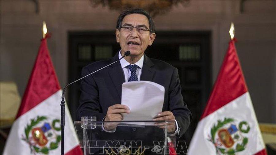 Tổng thống Peru tự cắt giảm lương nhằm hỗ trợ chống dịch COVID-19