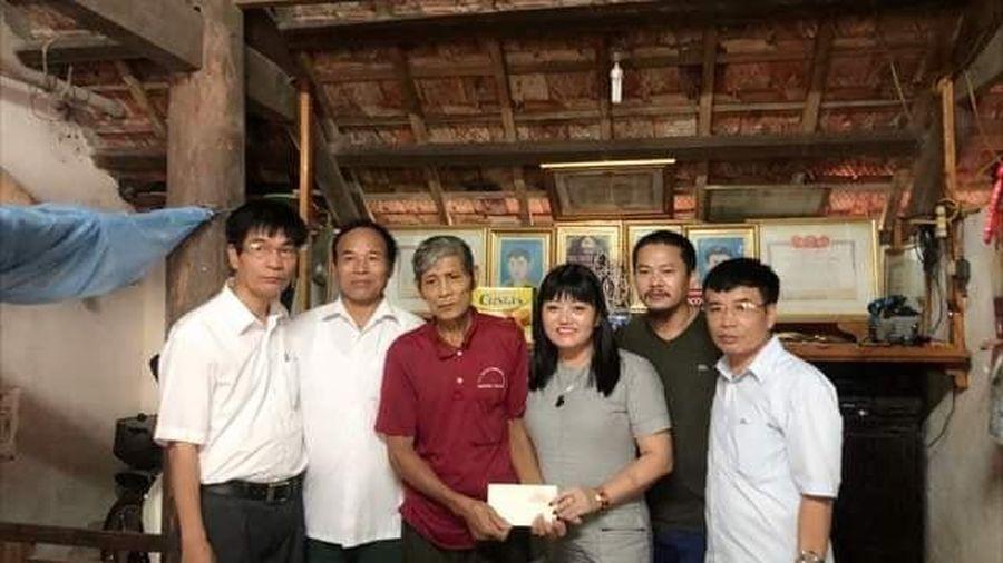 Hà Tĩnh: Trao tặng 34 triệu đồng cho các đối tượng có hoàn cảnh đặc biệt