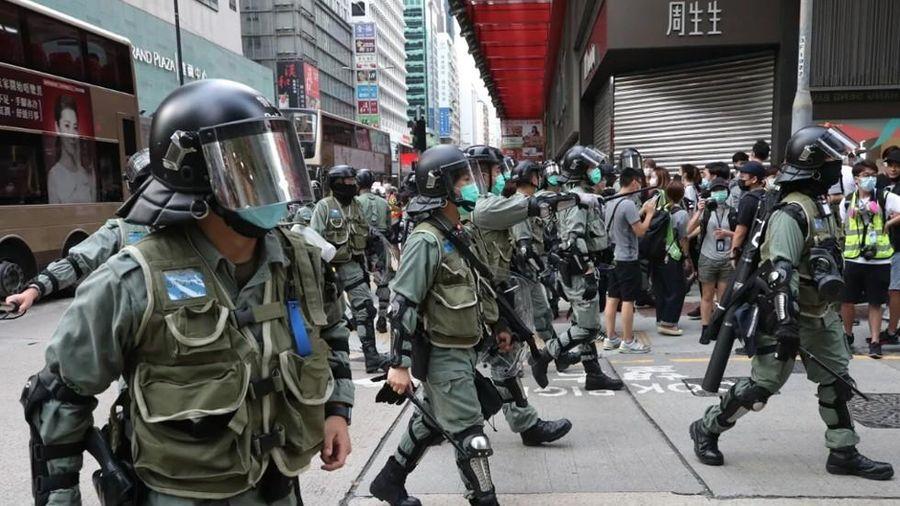 Mỹ, Australia, Canada và Anh ra tuyên bố chung về Hong Kong