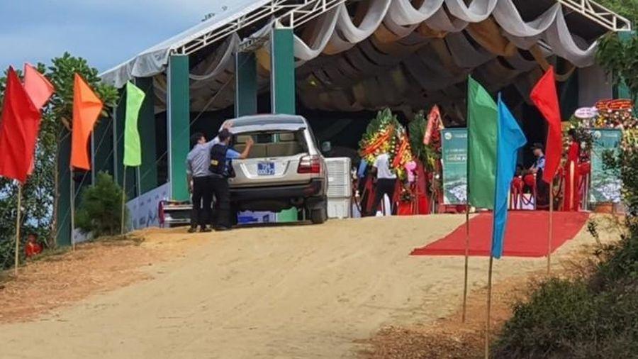 Dự án sân golf ở Huế khởi công trái phép, có lãnh đạo Tỉnh ủy đến tham dự?