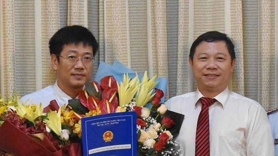 Phó chánh Thanh tra TP.HCM làm Chủ tịch quận 8