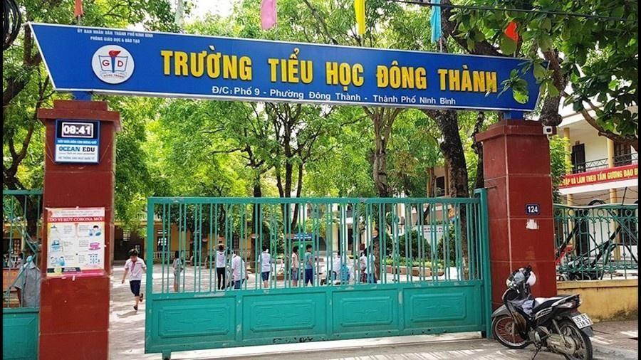 Cắt xén suất ăn học sinh, hiệu trưởng ở Ninh Bình bị bắt