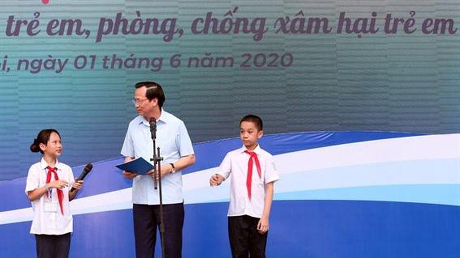 Phát động Thánh hành động vì trẻ em: 'Đẩy lùi đám mây che mặt Trăng, mặt Trời'