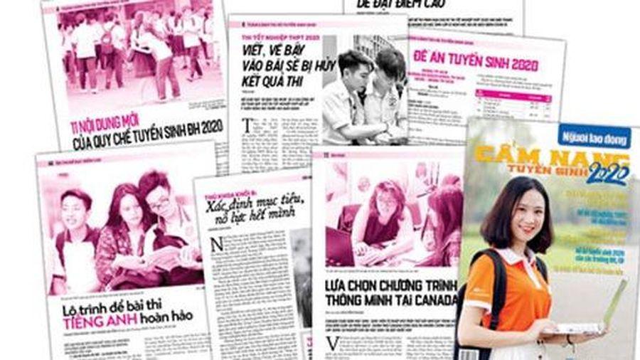 'Cẩm nang tuyển sinh 2020': Giúp thí sinh tự tin bước vào mùa thi