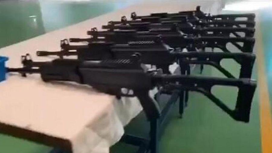 Lần đầu thử nghiệm súng trường bộ binh mới của quân đội Việt Nam