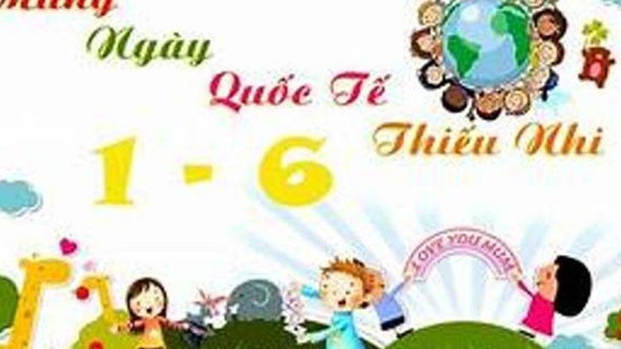 Hà Nội: Sôi nổi hoạt động cho trẻ em ngày Tết thiếu nhi 1/6