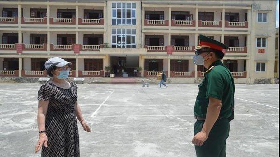 Các khu cách ly tập trung tại Thái Bình tạm thời được 'nghỉ ngơi'