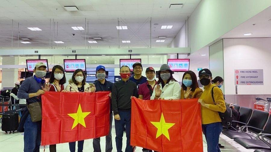 Đưa 343 công dân Việt Nam từ Australia, New Zealand về nước