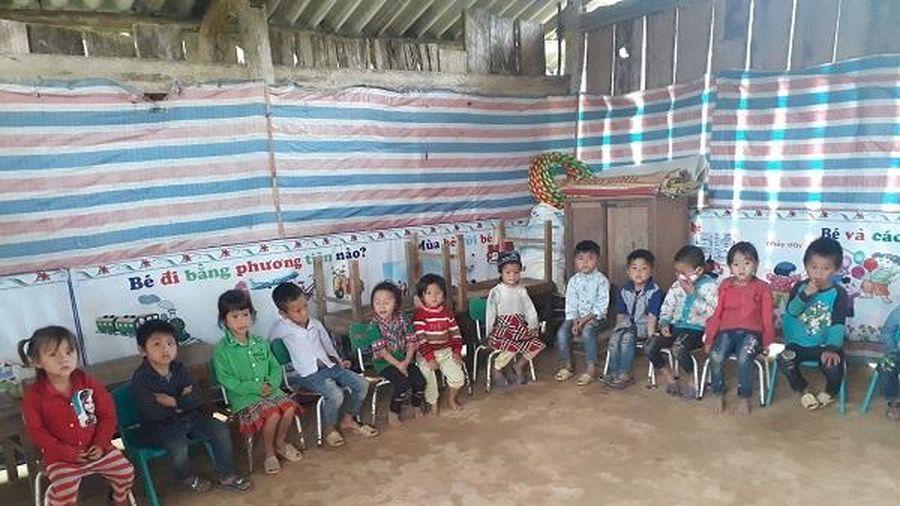Quỹ 'Mái trường cho em' tài trợ xây dựng lớp học mầm non tại thôn Tân Bình, xã Tân Nam, huyện Quang Bình, Hà Giang