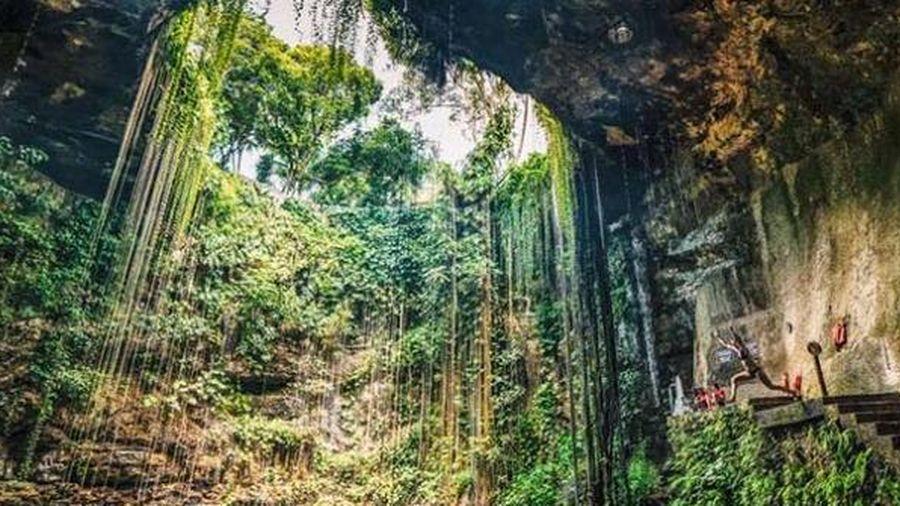 Lối vào thế giới ngầm của người Maya, 'viên ngọc ẩn' tuyệt đẹp ở Mexico