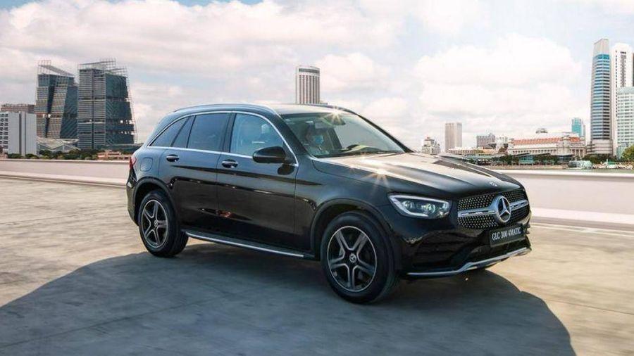 Giá lăn bánh Mercedes-Benz GLC 300 4Matic sau khi giảm 50% phí trước bạ