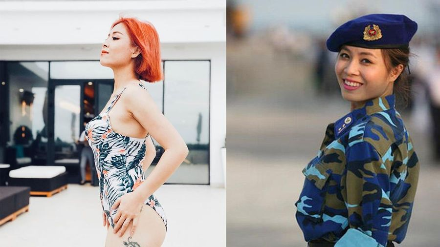 MC Hoàng Linh diện bikini gợi cảm khoe vóc dáng 'chữ S' nhưng dân mạng chỉ chú ý đến điều đặc biệt này