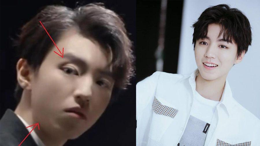 Gương mặt khác lạ của Vương Tuấn Khải: Là do lạm dụng photoshop hay tăng cân mất kiểm soát?