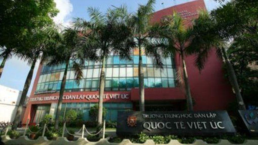 Trường Quốc tế Việt Úc bị 100 phụ huynh khởi kiện