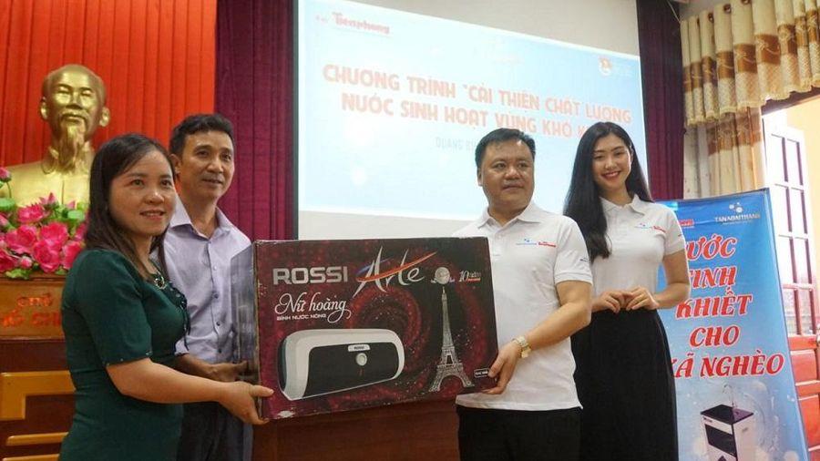 Quảng Bình: Hỗ trợ cải thiện nước sạch cho người nghèo