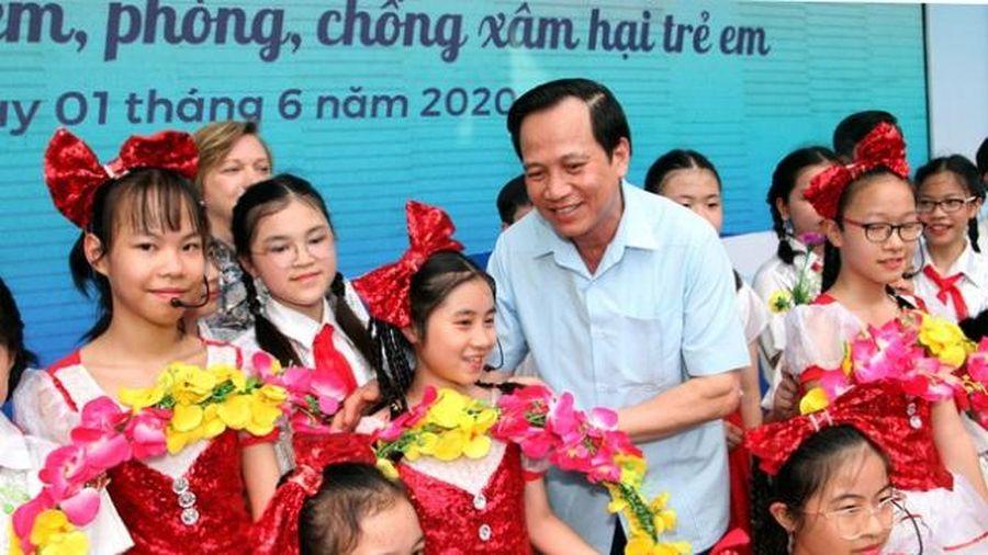 Tháng Hành động vì trẻ em năm 2020: Chung tay phòng, chống xâm hại, bạo lực trẻ em