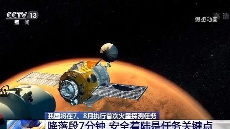 Trung Quốc bắt đầu chương trình thăm dò Sao Hỏa khoảng tháng 7, 8
